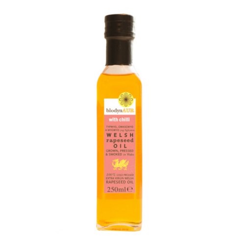 Blodyn Aur Chili Welsh Rapeseed Oil