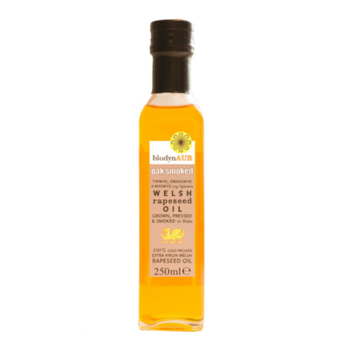 Blodyn Aur Oak Smoked Welsh Rapeseed Oil