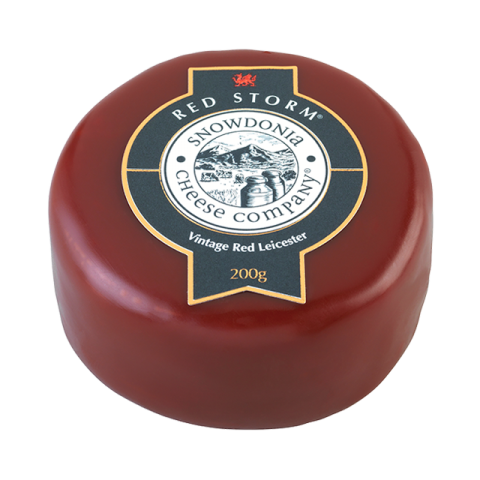 Snowdonia Cheese - Red Storm (Red Leicester)