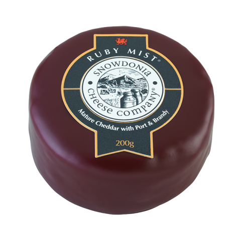Snowdonia Cheese - Ruby Mist (Port & Brandy)
